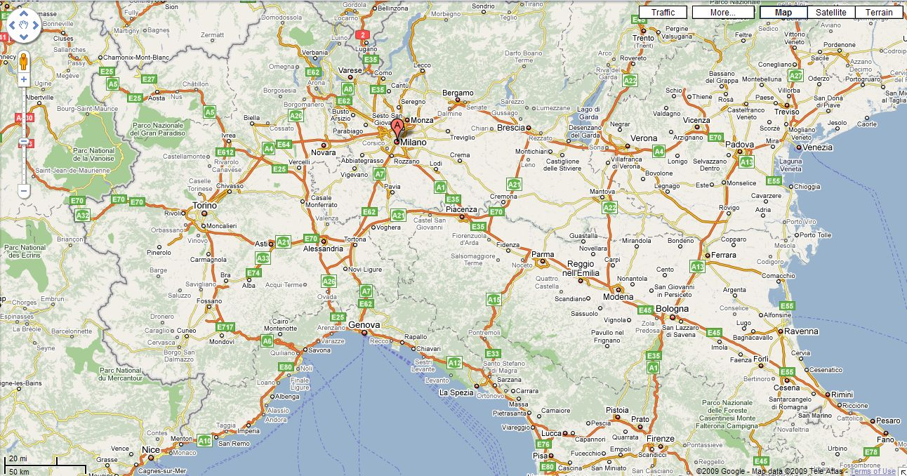 Bologna Airport car hire - Italy rent a car - Maggiore Goldcar ... on map of europe with cities, map of italy showing cities, map of switzerland cities,